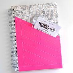 Duck Tape Pocket Notebook Tutorial - Dream a Little Bigger Pocket Notebook, Diy Notebook, Washi Tape Diy, Masking Tape, Used Iphone, Scotch Tape, Duck Tape, Card Holder, Crafts For Kids