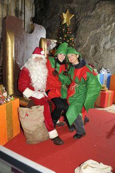 Babbo Natale con le elfe!