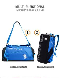 Spedizione gratis Gym Bag, Hiking, Fitness, Casual, Sports, Bags, Travel, Walks, Hs Sports