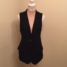 Urban outfitters vest this could fit a medium as well. Dry clean only. It does have some wrinkling. No flaws. Urban Outfitters Jackets & Coats Vests