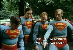 see how he uses a spanner monty python Superman Suit, Michael Palin, Monty Python, Stick It Out, I Laughed, Photo Galleries, Bicycle, Jokes, Funny