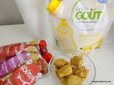 Mini madeleines bébé saveur banane avec Good Goût - recette pour bébé dès 12 mois - Bergamote Family