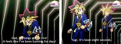 Abridged Yu-Gi-Oh for the win.