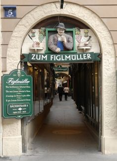 Figlmüller on Wollzeile in Vienna. I brought Karina to see this amazing restaurant in September of The home of the famous wiener schnitzel that drapes over the edge of the plate. Wiener Schnitzel, Restaurant Bar, River Cruises In Europe, Danube River Cruise, Living In Europe, Girls Getaway, Vienna Austria, Best Day Ever, Restaurants