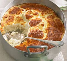 Semolina gnocchi bake - New Zealand Food Meat Recipes, Slow Cooker Recipes, Pasta Recipes, Polenta Recipes, Savoury Recipes, Potato Recipes, Best Italian Recipes, Favorite Recipes, Baked Gnocchi