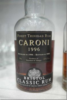 Caroni Rum from Trinidad & Tobago