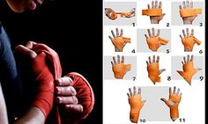 A typical Muay Thai hand wrap ranges from 70 to 180 inches depending on the type and material of handwrap.