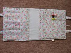 Bolsa porta Livro Jardim Secreto flores