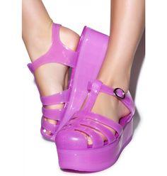 Jellypop Platform Sandal | Dolls Kill