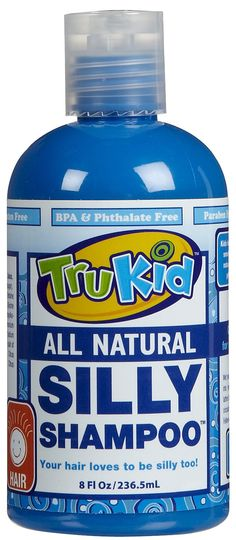 TruKid Silly Shampoo - 8 oz - Free Shipping, fantastic natural children's shampoo! And it smells fantastic!