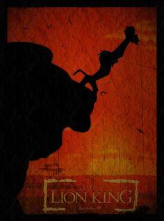 Lion King Minimalist Poster by GeekTruth64.deviantart.com on @deviantART