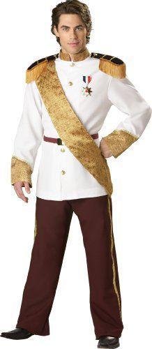 InCharacter Costumes, LLC Men's Prince Charming Costume, White,  #halloweencostumesboutique