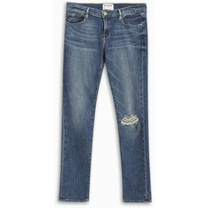 Shop Frame Denim Garcon Jeans at Modalist | M0002000001923 ($156) ❤ liked on Polyvore featuring jeans, blue jeans and frame jeans