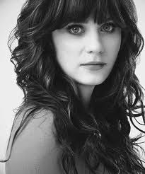 #zooey #deschanel - #bangs and #curls - beautifully framed face