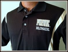 PURDUE BOILERMAKERS NCAA BY KA EMBROIDERED POLO SHIRT ADULT SMALL FREE SHIPPING #KA #PurdueBoilermakers