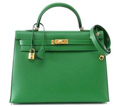 A Hermes bag. | 17 Kelly Green Things You Could Buy If You Found A Leprechaun's Gold