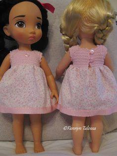 Fanny's house: animator dolls