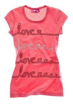 self esteem love line tee