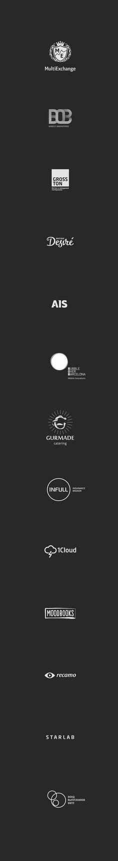 https://www.behance.net/gallery/26992691/Logo-Set-2013