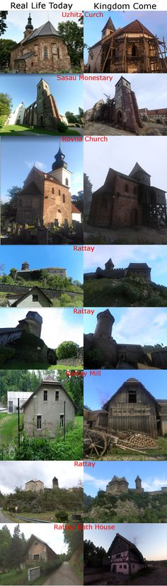 Comparisons Between Real Life and Kingdom Come:Deliverance