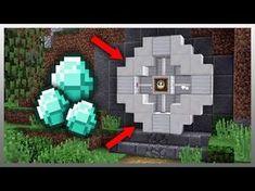 (store your valuable items Minecraft Redstone, Mine Minecraft, Easy Minecraft Houses, Minecraft Castle, Minecraft Plans, Minecraft Videos, Minecraft Survival, Minecraft Decorations, Amazing Minecraft