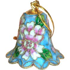 Lovely Small Cloisionne Bell