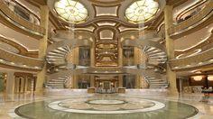 Royal Princess Atrium Staircases #RoyalPrincess