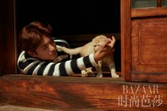 Park Bo Gum and Ryu Jun Yeol for Harper's BAZAAR China   the talking cupboard