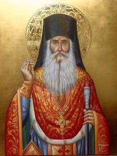 Orthodox Icons, Saints, Painting, Sacred Art, Statues, Painting Art, Paintings, Painted Canvas, Drawings