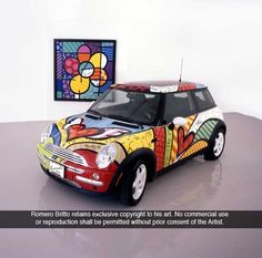 Romero Britto - love your everything!