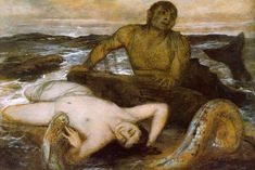 Triton and Nereid, Arnold Böcklin (1877)
