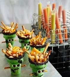 Some great Halloween snacks for kids (and adults too)! - FB Troublemakers