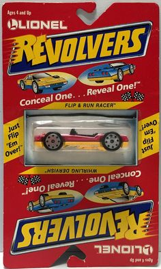 (TAS033924) - 1989 Lionel Revolvers Conceal Reveal - Flip & Run Whirling Dervish