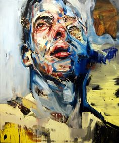 Andrew Salgado; Oil, 2011, Painting I Cant Quite Remember But I Never Forget