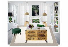 modern bedroom by mirellaparer   Olioboard