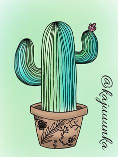 Cactus 🌵 #cactus #mexico #drawing #idea #outline
