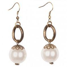 723f533f64f Pearl Bead Earrings - want to make!