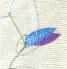 On-Line Hand Embroidery Classes with Tanja Berlin
