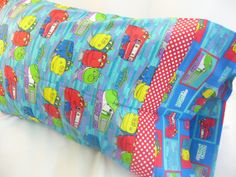 Pillowcase Trains Chuggington by ThrowInTheTowel on Etsy, $10.00 Chuggington Birthday, Throw In The Towel, Trains, Print Patterns, Pillow Cases, I Shop, Quilting, Stitch, Pillows