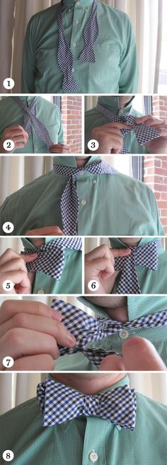 Tie that bow.