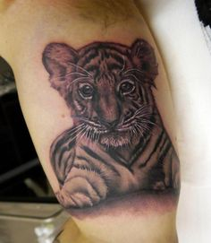 2b87e839c 14 best Cute Baby Tiger Tattoos images in 2017 | Cubs tattoo, Baby ...