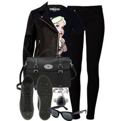 A fashion look from January 2015 featuring Disney t-shirts, River Island jackets and Vero Moda jeans. Browse and shop related looks.