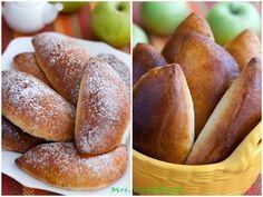 Яблочные пирожки  Пышные и румяные, мои любимые пирожки с яблоками. Мягкое творожное тесто и сочная яблочная начинка, идеальный вариант для домашнего чаепития!   Вам потребуется:  Для теста: 250-300гр муки 125 гр творога 100 гр сахара 100 мл молока 75 мл растительного масла 1 пакетик разрыхлителя (10 гр Dr. Oetker) ванилин 1/4 ч. ложки соли   Для начинки: 4 средних яблока 1 ст. ложка сахара 1 ст. ложка сливочного масла  Как готовить:  1. Приготовить начинку. В сковороде распустить сливочное…