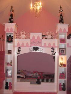 Our princess room!