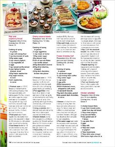 Clipped from Better Homes and Gardens using Netpage. Better Homes And Gardens, Easter Recipes, High Tea, Afternoon Tea, Pear, Tea Pots, Deserts, Treats, Tableware
