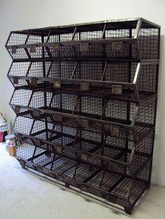 industrial bins   //   NeoRetro