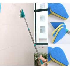 High Quality Clean Reach Telescoping Angled Scrub Brush Scrubber Cleaning Product With Handle GREAT DEAL!! $11.99!! SUMMER SAVINGS!! www.Dealz360bargains.com