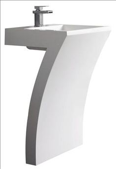 Not only is this stylish Hudson Reed Seven Basin lucky but it looks the part too. This contemporary basin is Available to buy now from at Victorian Plumbing online. Bathroom Shop, Big Bathrooms, Bathroom Fixtures, Contemporary Bathroom Sinks, Luxury Toilet, Lavabo Design, Hudson Reed, Design Moderne, Minimalist Decor