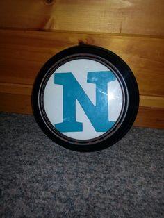 "Old broken clock turned into"" N ""shadow box"