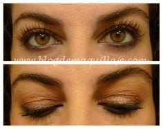 Maquillaje de ojos con Naturally Nude